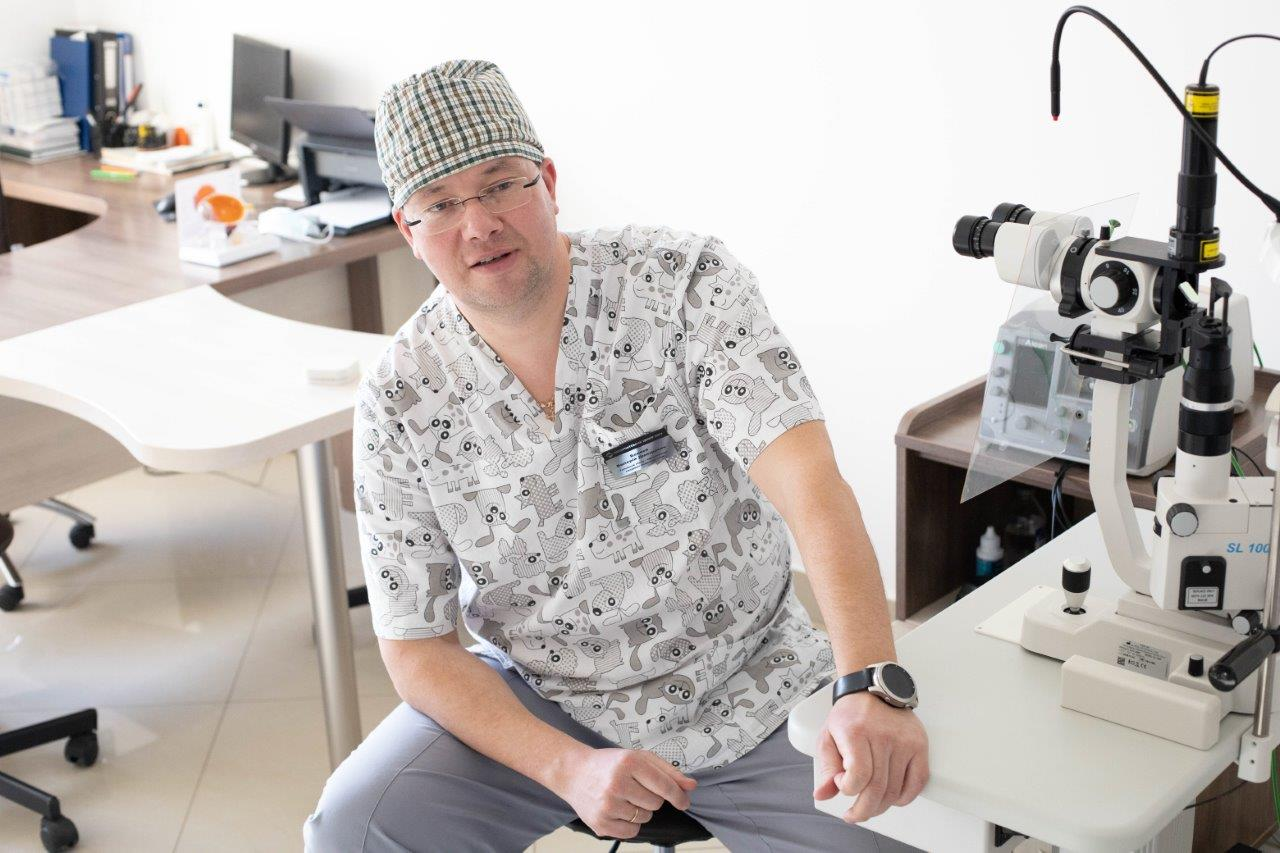 Беляєв Валерій Дмитрович - Закарпатський центр зору та Закарпатський центр мікрохірургії ока