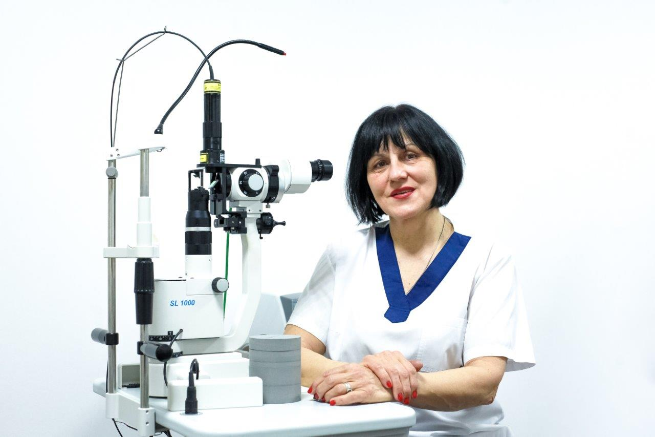 Чучка Ольга Іванівна - Закарпатський центр зору та Закарпатський центр мікрохірургії ока