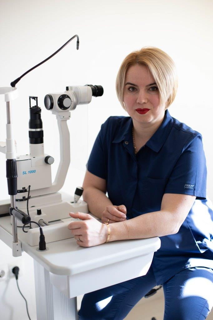 Мазур Євгенія Василівна - Закарпатський центр зору та Закарпатський центр мікрохірургії ока