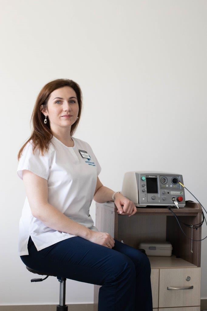 Рего Вероніка Альбертівна - Закарпатський центр зору та Закарпатський центр мікрохірургії ока