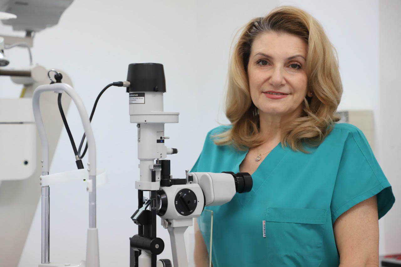 Левицька Галина Василівна - Закарпатський центр зору та Закарпатський центр мікрохірургії ока